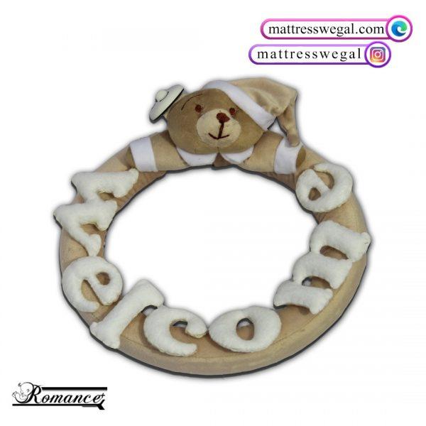 حلقه تزیینی مدل خرس رومنس