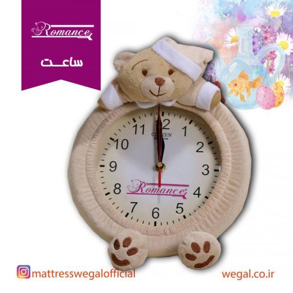 ساعت اتاق کودک مدل خرس رومنس