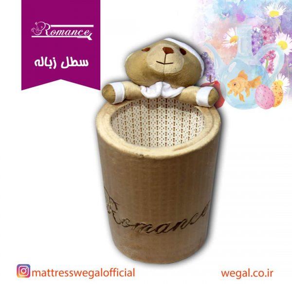 سطل زباله اتاق کودک مدل خرس رومنس